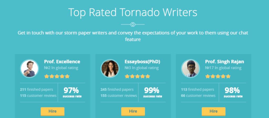 EssayTornado Writers Review