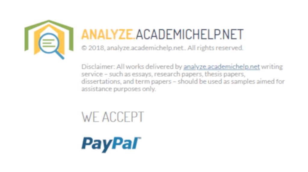 analyze academic help