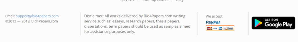 Bid4Papers Quality Review