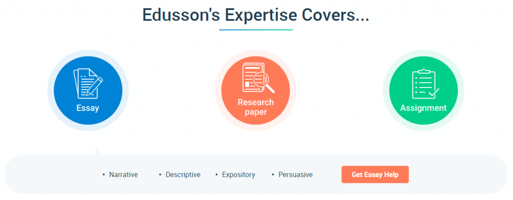 Edusson Service Types
