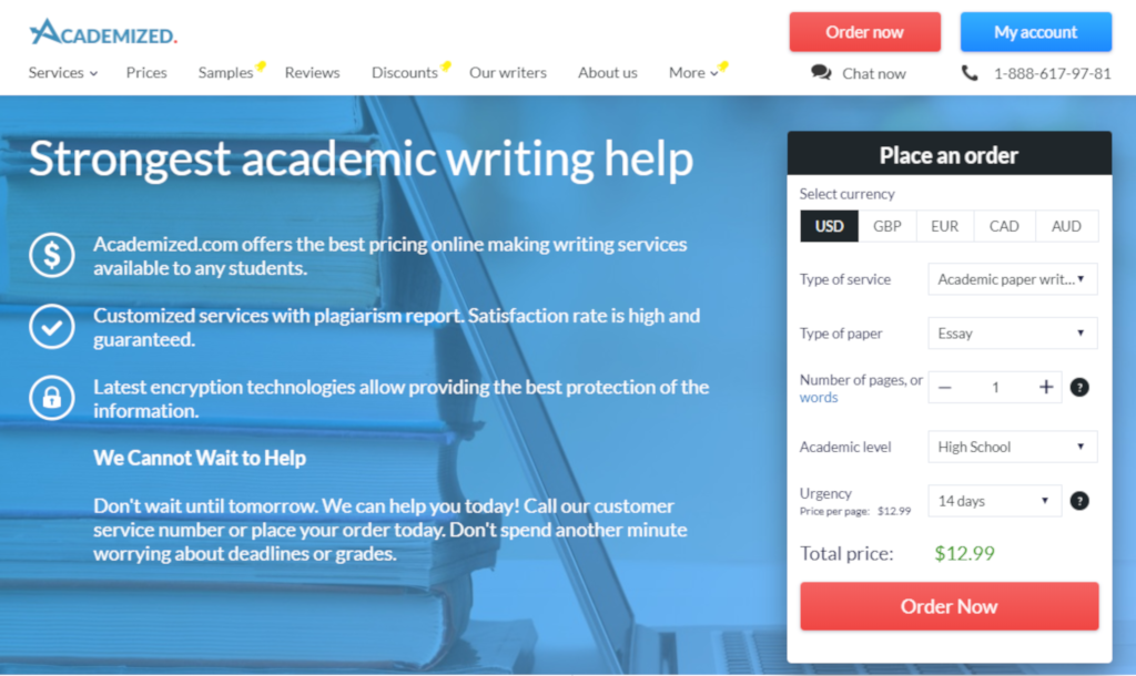 Honest Review On Academized.com Writing Service